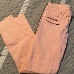 Life in progress salmon pants, size 29